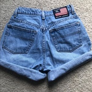 Ralph Lauren High Waist Vintage Shorts